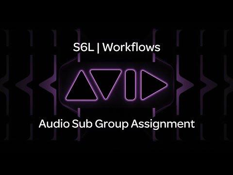 VENUE | S6L — Audio Sub Group Assignment