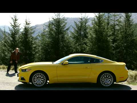 Ford Mustang arrives in Europe  - Episode 3 - Scotland