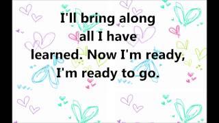 I'm ready to go