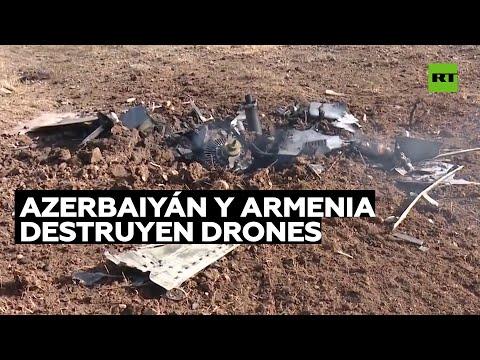 Azerbaiyán y Armenia informan sobre la destrucción de drones enemigos