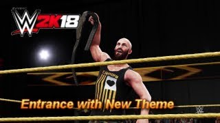 WWE 2K18 - Tommaso Ciampa Entrance with New Theme (PS4)