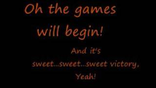 Spongebob Squarepants- Sweet Victory (Lyrics)