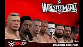 WWE 2K17 Wrestlemania 31 Highlights width=