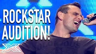 Pete Murphy Audition...A Rockstar Is Born! | X Factor Australia