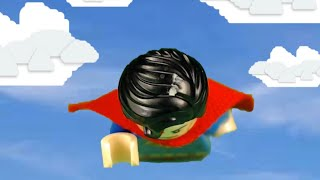 Superman Theme Song in LEGO