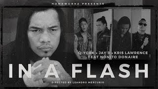 Q-York, Jay R, Kris Lawrence ft. Nonito Donaire - In A Flash [Official Music Video]
