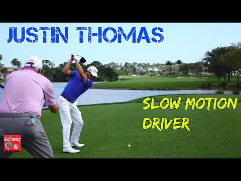 JUSTIN THOMAS DTL SLOW MOTION DRIVER GOLF SWING 1080 HD