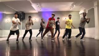 Deorro X Chris Brown | Five More Hours | Gyrate Dance Company
