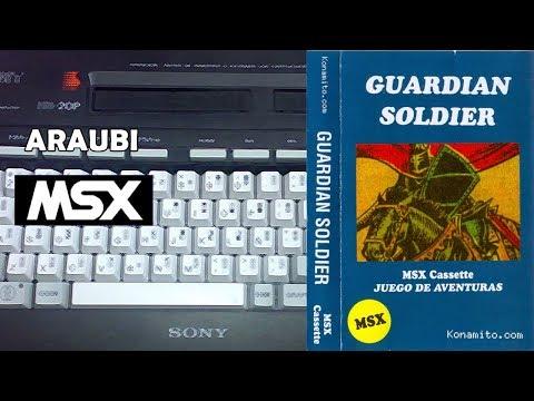 Guardian Soldier (Jon Cortazar, 2011) MSX [217] Walkthrough Comentado