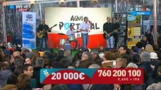 """Banda Quadrante Norte na RTP1 """"Aqui Portugal"""" em Vizela - Apaixonado Por Você"""