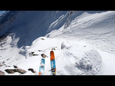 GoPro: Markus Eder's Insane Line | Kicking Horse Golden BC FWT19