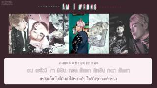[Karaoke Thaisub] BTS (방탄소년단) - Am I wrong