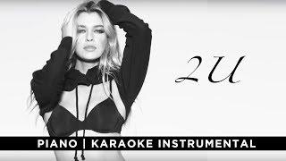 2U (Piano|Karaoke Instrumental) - David Guetta ft. Justin Bieber