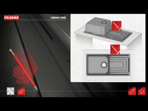 Franke Urban Slim Fix System video