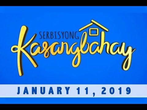 Serbisyong Kasangbahay (January 11, 2019)