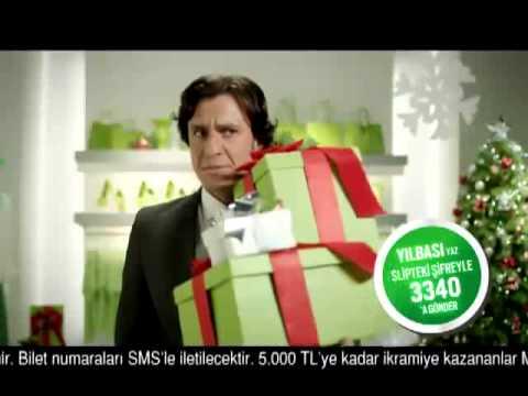 BONUS Gülse Birsel Yılbaşı Reklamı, Bonus Kredi Kartı 2012, Garanti Bankası