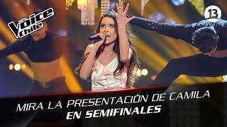 The Voice Chile | Camila Gallardo - Chandelier