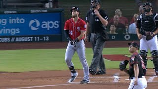 WSH@ARI: Extended cut of Harper's mammoth solo homer