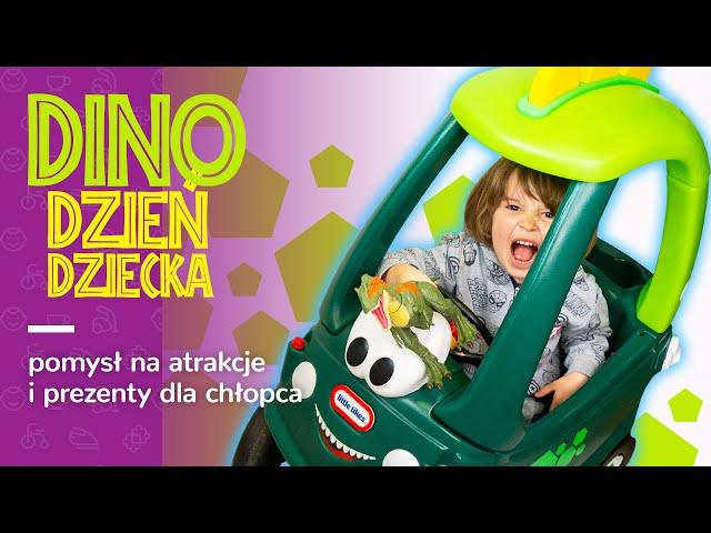 DINO DZIEŃ DZIECKA!?🦕🎁Co za ATRAKCJE! Jaś poleca: LEGO, Little Tikes, Hot Wheels