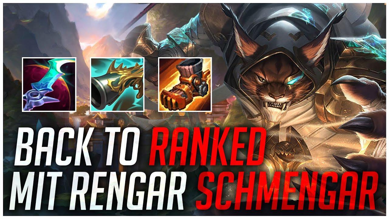 PlayersHUB - BACK TO RANKED MIT RENGAR SCHMENGAR! [League of Legends]