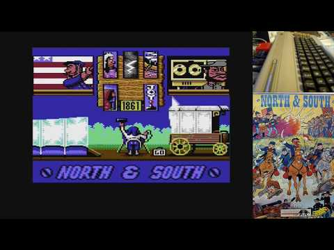 north and south c64 juegos epicos