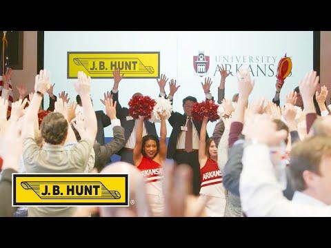 J.B. Hunt and University of Arkansas Celebrate J.B. Hunt Innovation Center of Excellence