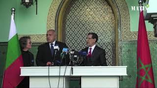 Point de presse conjoint du Premier ministre de la République de Bulgarie et du chef de gouvernement