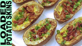 LOADED POTATO SKINS Gluten Free Super Bowl Football Party Appetizers Snacks Food