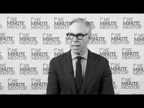 Hearst One Minute Mentor: Tommy Hilfiger on Startups