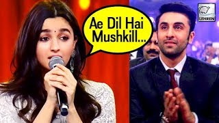 VIDEO ALERT! Alia Bhatt Sing's Ranbir Kapoor Song, Makes Internet Go Crazy | LehrenTV