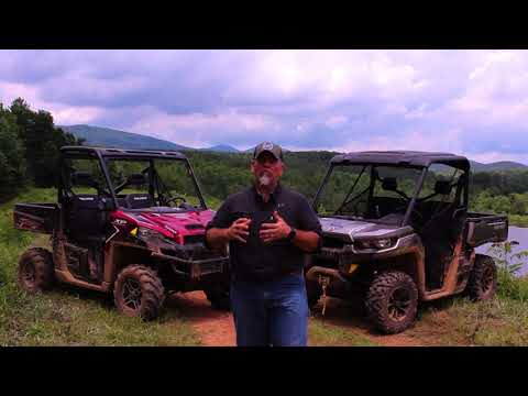 2017 Can-Am Defender HD10 XT vs. Polaris Ranger XP 1000 EPS