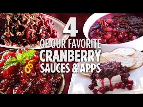 4 of Our Favorite Cranberry Sauces and Appetizers | Recipe Collections | Allrecipes.com