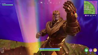 Fortnite - Thanos Gameplay (Perfectly Balanced)