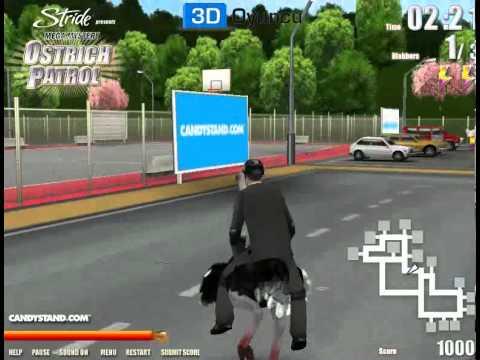 3D Devekuşu Gezintisi - 3D Macera Oyunları - 3DOyuncu.com