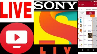 Live jio TV Sony channel