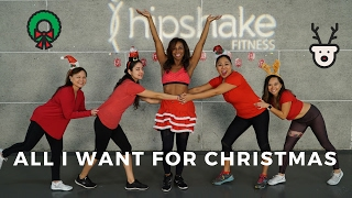 All I Want For Christmas Is You | Dance Workout Choreography | Mariah Carey | Flirty Hip Hop width=