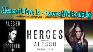 Alesso ft. Tove Lo - Heroes (We Could Be) Lyrics