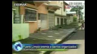 Telerama Noticias: Puerto Limpio premia a barrios organizados