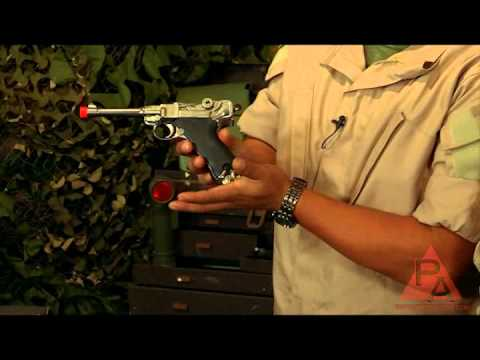 Video: WE P08 Gas Airsoft Pistol - RFR Episode 13  | Pyramyd Air