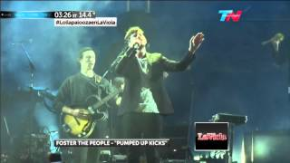 "FOSTER THE PEOPLE ""PUMPED UP KICKS""  LOLLAPALOOZA ARGENTINA 2015"