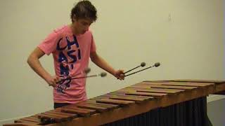 Coldplay - Viva la Vida on marimba (re-upload)