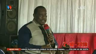 Live :Team ya Wasanii wa Wasafi Festival Wamtembelea Shule ya Msingi Mwembe Togwa #Iringa