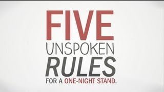 The 5 Unspoken Rules For One Night Stands