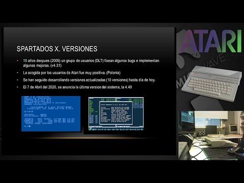 Bola Extra - SpartaDOS X, sistema operativo para Atari 8bit
