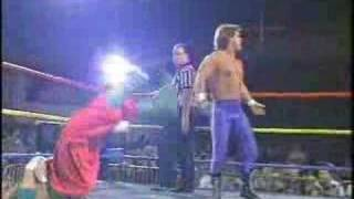 Chris Benoit Breaks Sabu's Neck