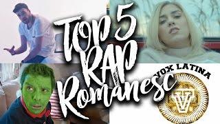 TOP 5 Melodii Noi de Rap & Hip-Hop Romanesc - Decembrie, 2016