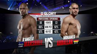 FULL MATCH - D'Angelo Marshall vs. Mohammed Abdallah - Tournament Semi-finals: GLORY 41 Holland
