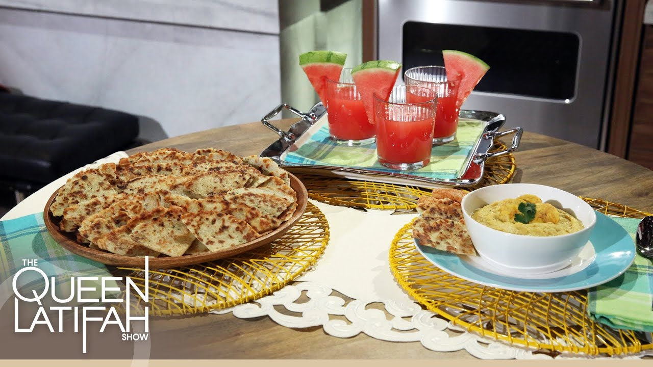 Chef Lorena Garcia Cooks New Latin Classic Recipes on The Queen Latifah Show