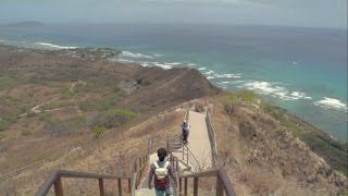 HAWAII TRIP PART 1 - DIAMOND HEAD - APRIL 2016