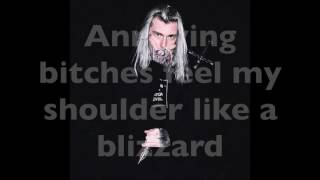 GHOSTEMANE - PRÆY (LYRIC VIDEO)